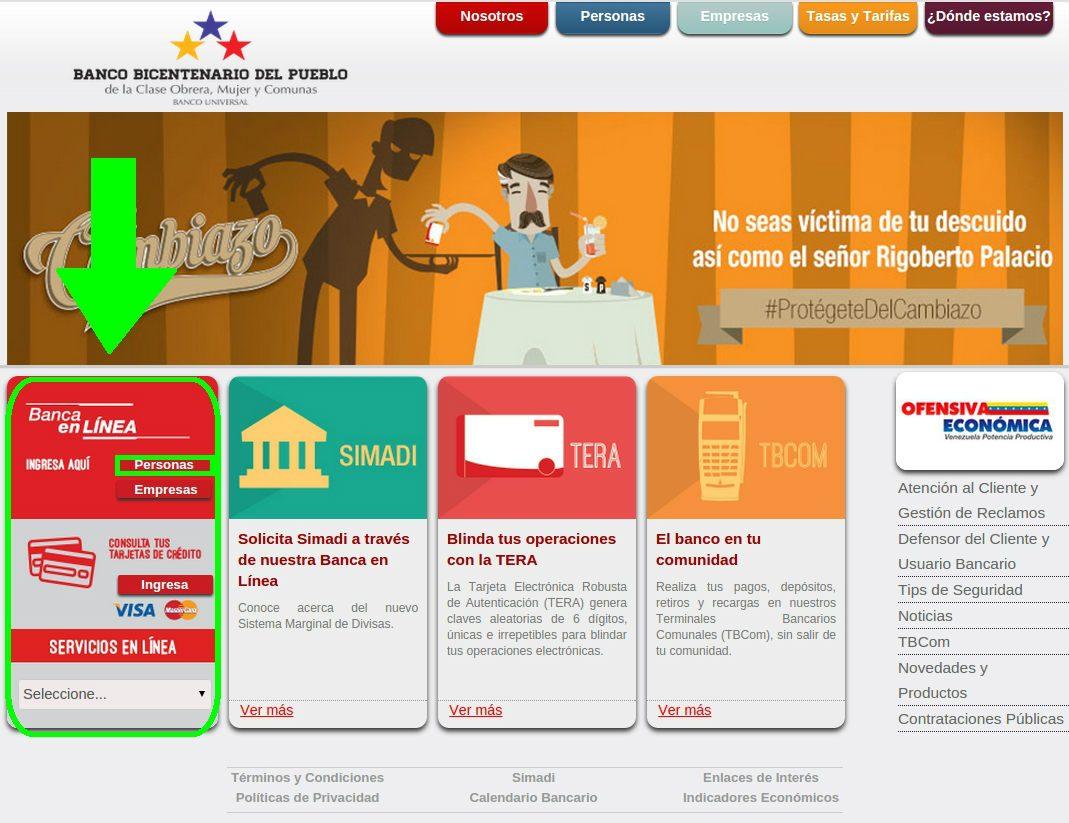 banco bicentenario en línea