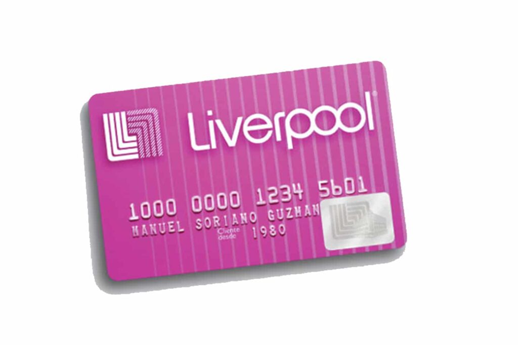 tramitar una tarjeta Liverpool